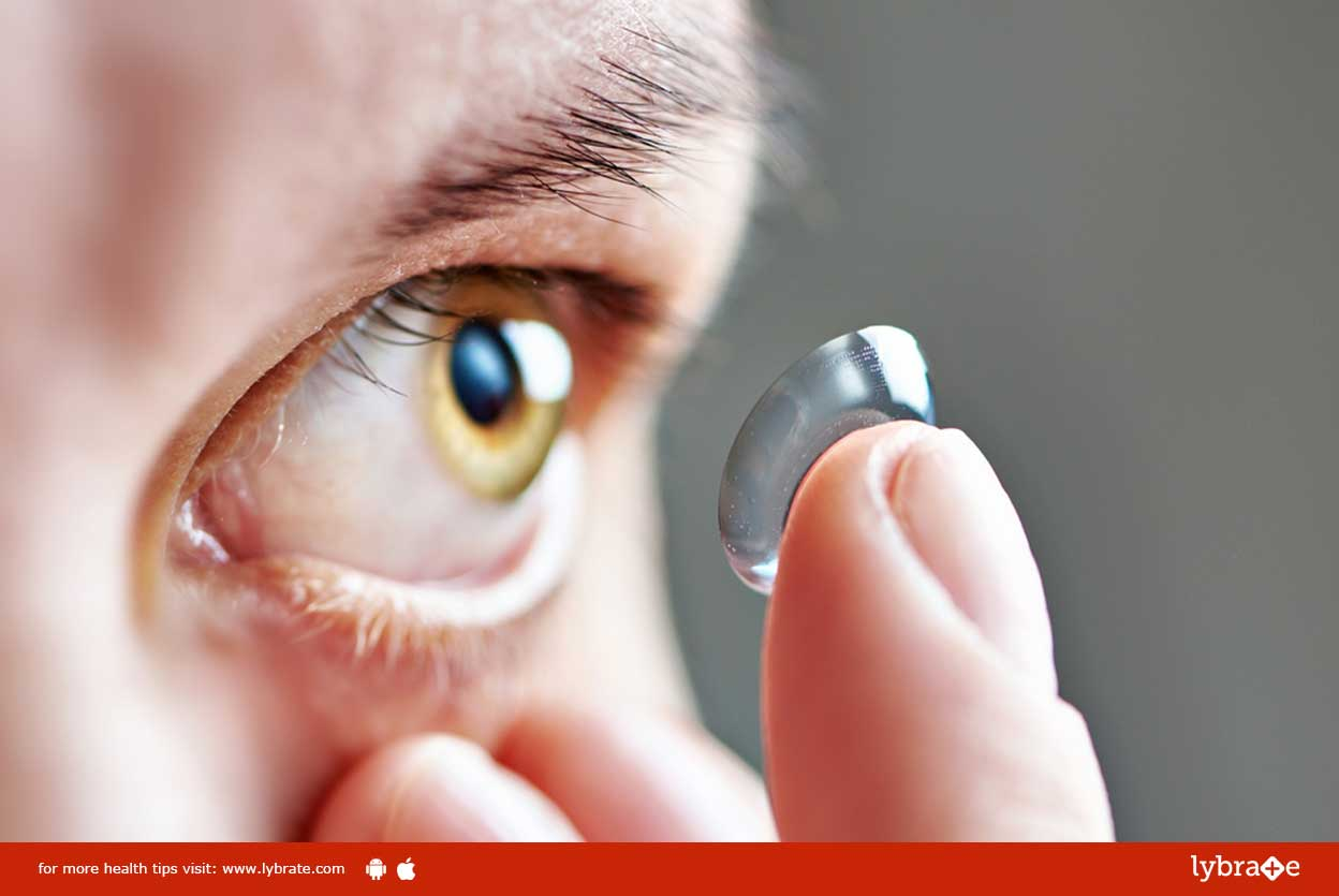 Contact Lens Discomfort - What to Do